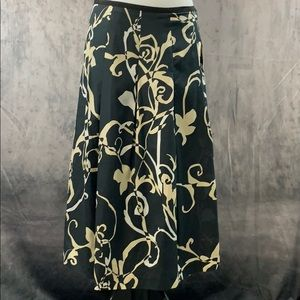 NWT Haley & Kate Floral Skirt - Size 6